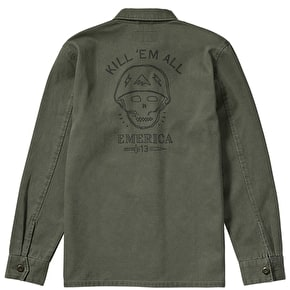 Emerica Kill Em Shirt Jacket - Olive