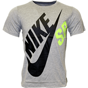 Nike SB Kids Logo T-Shirt - Dark Heather