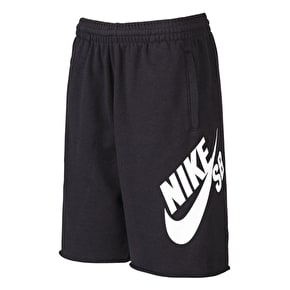 Nike SB Kids French Terry Shorts - Black