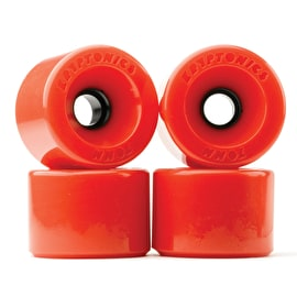 Kryptonics Star Trac Wheels - Red 60mm