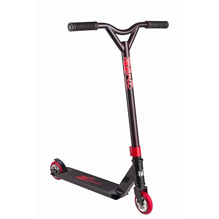Grit 2017 Extremist Complete Scooter - Black/Red Metallic