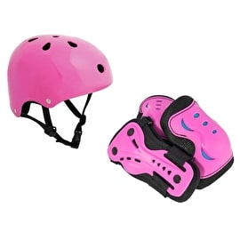 SFR Essentials Helmet & Pad Set Bundle - Pink
