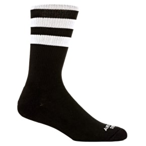 American Socks Mid High Socks - Back In Black