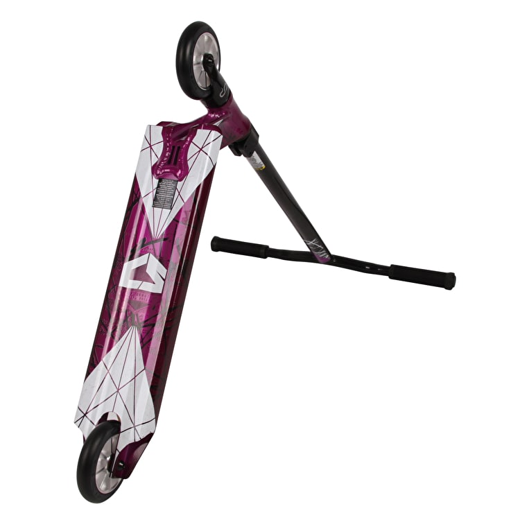 Crisp 2018 Inception Stunt Scooter - Trans Purple/Black