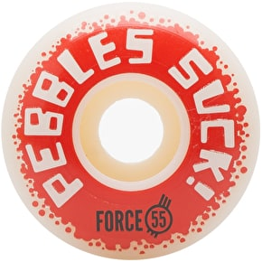 Force Pebbles Suck! 2017 Skateboard Wheels - 55mm