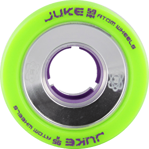 ATOM JUKE GAMETHANE ALLOY 59mm Quad Derby Wheels 95A (4pk)