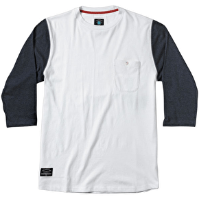 Fourstar Leavenworth 3/4 Knit Crew - White