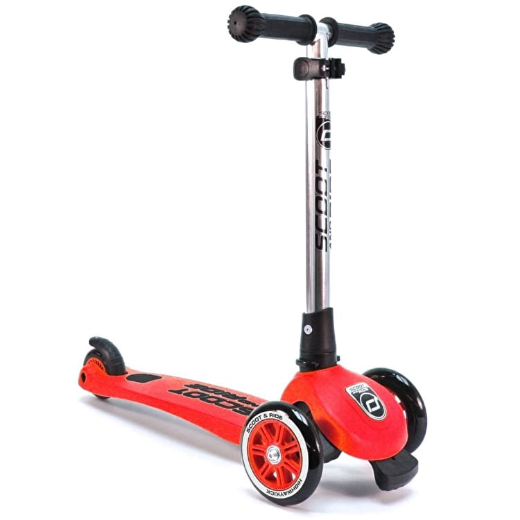 Scoot And Ride Highwaykick 3 Complete Scooter - Red