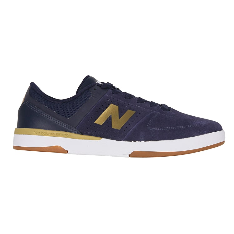 New Balance 533 V2 Skate Shoes - Navy/Gold