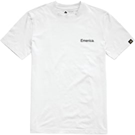 Emerica Pure Embroidery T Shirt - White
