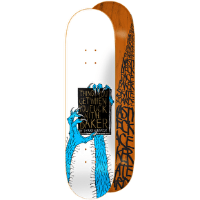 Baker 'Baker Bible' Skateboard Deck - Kennedy 8.25