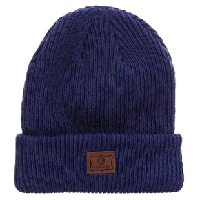 Expedition One Patch Beanie - Midnight Blue