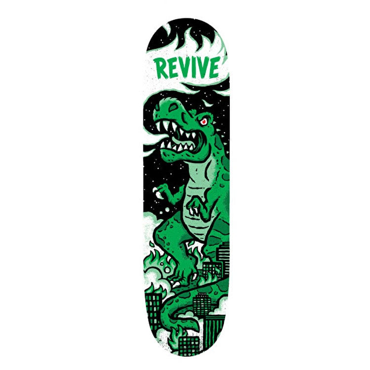 ReVive T-Rex Skateboard Deck