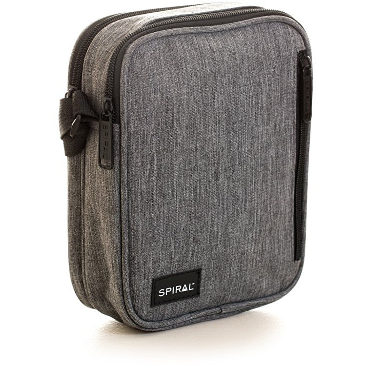 Spiral Havana Flight Bag - Charcoal