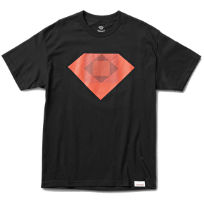 Diamond Rotoscope T-Shirt - Black