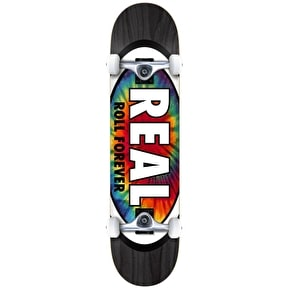 Real Skateboards Inner Oval Complete Skateboard - Black Stain 8