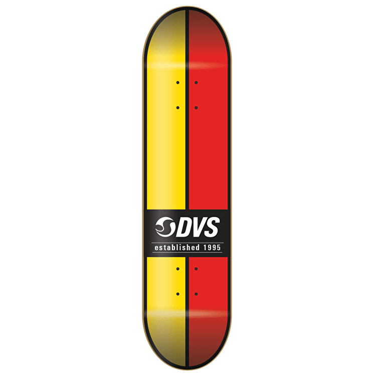 DVS Skateboard Deck - Ace - Yellow/Red - 8.0""