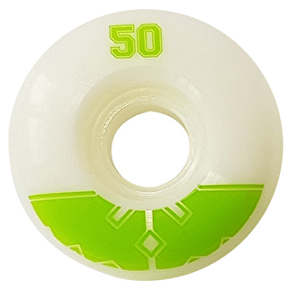Fracture Uni Pro Skateboard Wheels - Green 50mm
