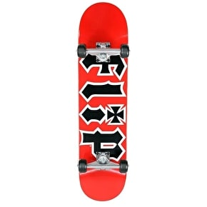 Flip HKD Team Red Complete Skateboard - 7.75