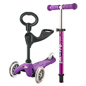 Mini Micro 3in1 Deluxe Complete Scooter - Purple