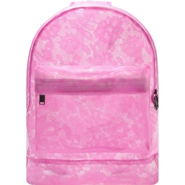 Mi-Pac Transparent Lace Backpack - Pink