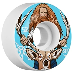 Bones Wheels STF Haslam Broncanus V3 Skateboard Wheels - 52mm (Pack of 4)