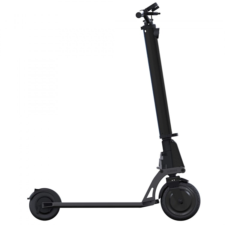 Globber One K E-Motion Electric Scooter - Black/Lead Grey