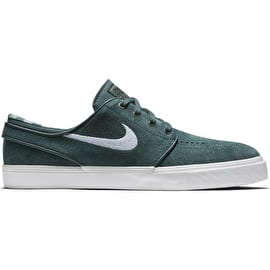 Nike Zoom Stefan Janoski Skate Shoes - Deep Jungle/White Clay/Green White