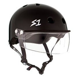 S1 Lifer Gen 2 Visor Helmet - Black Gloss