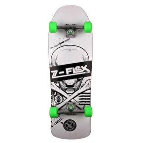 Z-Flex Z-Bone Series Complete Cruiser Skateboard - White - 31