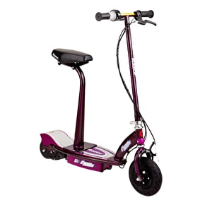 Razor E100s Electric Scooter With Detachable Seat And Post