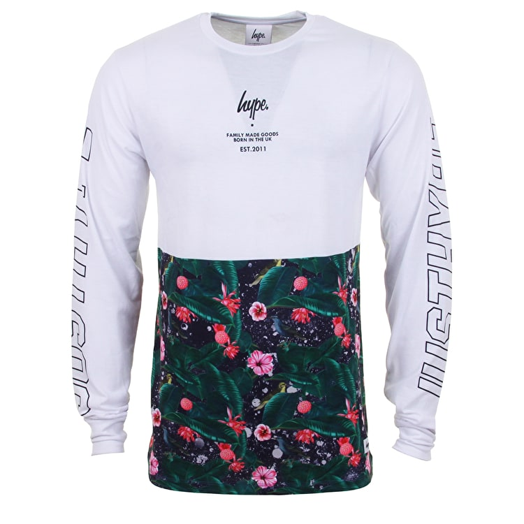 Hype Repeat Leaves Longsleeve T-Shirt