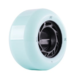 Welcome Orbs Ghost Lites Skateboard Wheels 55mm - Mint/Black