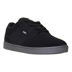 DVS Quentin Skate Shoes - Black Nubuck