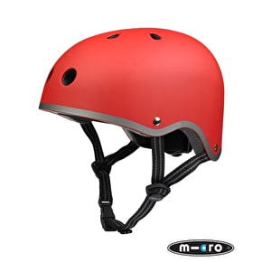 Micro Safety Helmet - Matt Red