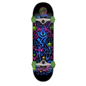 Santa Cruz Space Wolf Complete Skateboard - Multi 7.25