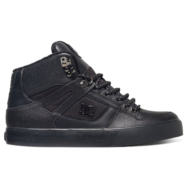 DC Spartan High WC SE Skate Shoes - Black