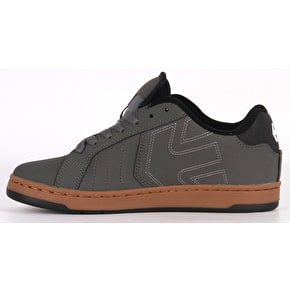 Etnies Fader 2 Skate Shoes - Grey/Black/Gum