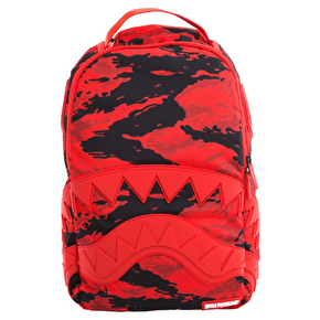Sprayground Red Tiger Shark Backpack