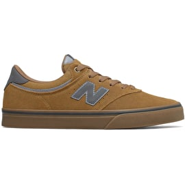 New Balance 255 Skate Shoes - Tan/Gum