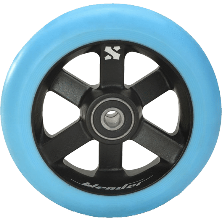 Sacrifice Blender 110mm Wheel - Light Blue/Black