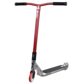 Apex Pro Custom Scooter - Chrome//Red