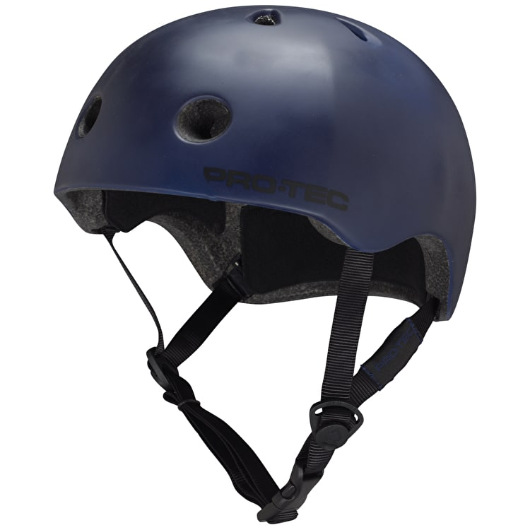 B-Stock Protec Street Lite Helmet - Navy Blue - Large 57-58cm (Box Damage)
