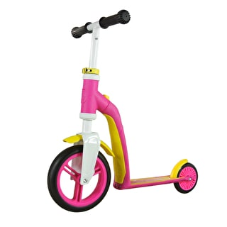 Scoot And Ride Highwaybaby 2in1 Toddler Complete Scooter - Pink/Yellow