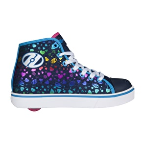Heelys Veloz - Denim/Multi Hearts