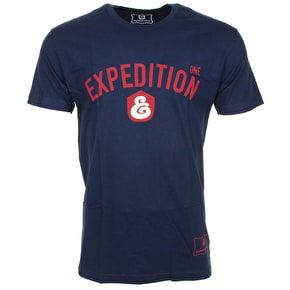 Expedition One Port T-Shirt - Navy