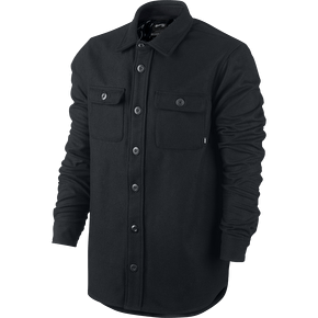 Nike SB Buffalo Plaid Shirt Jacket - Black