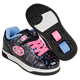 Heelys X2 Dual Up - Black/Hologram/Pink/Purple