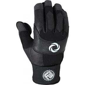 Flying Wheels Asphalt Leather Gloves