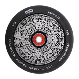 Infinity Mayan 120mm Scooter Wheel - Black/White